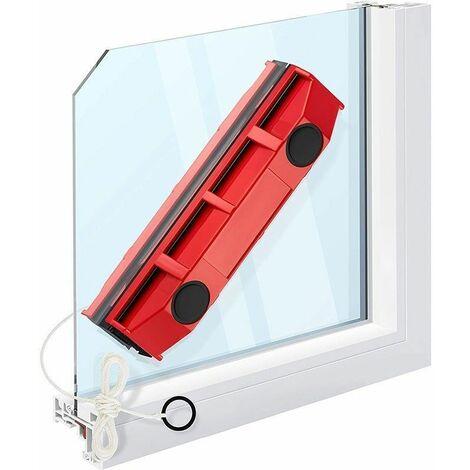 Raclette lave vitre magnétique pour simple / double / triple Vitrage