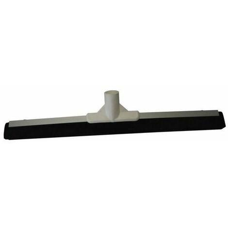 Raclette sol aluminium mousse caoutchouc noir 50 cms