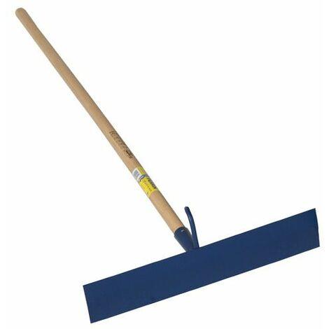 Racloir bitume à crochet 50cm standard bleu emmanché 1,30 m
