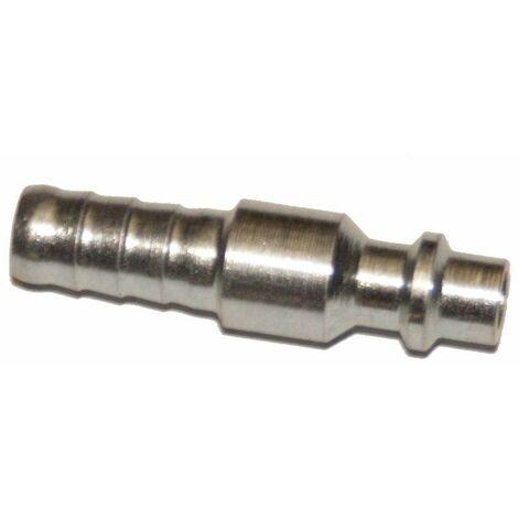 Racor aire comprimido espiga macho para manguera 8 mm
