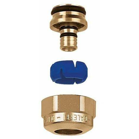 Racor de diámetro autoadaptable para tubos de plástico Caleffi 6800
