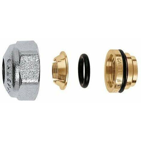 Racor mecánico para tubos en cobre recocido o crudo caleffi 437