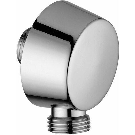 """Racor para empotrar con soporte mural para ducha 1/2"""" Paffoni Light ZACC130"""