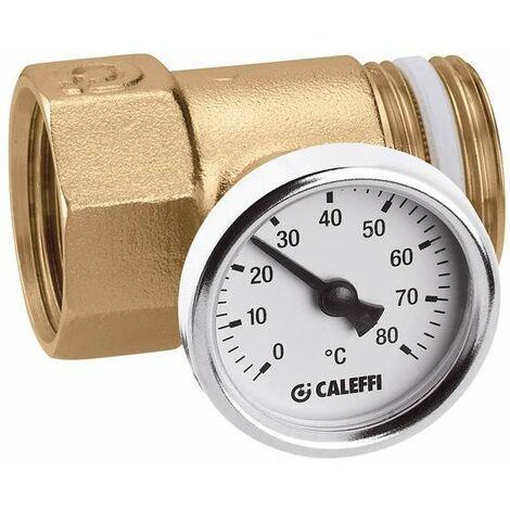 Racor portatermómetro Para colectores de las series 592 y 350 Caleffi 392