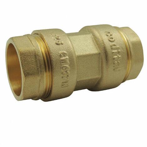Racores de latón ø 25 mm para tubo de PE: Manguito de acoplamiento