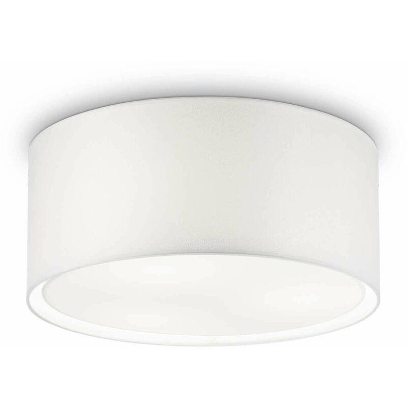 01-ideal Lux - RAD weiße Deckenleuchte 3 Glühbirnen