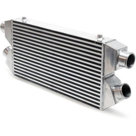Radiador admisión de aire Twin-Turbo IN & OUT INTERCOOLER No.017 Refrigeración motores tuning