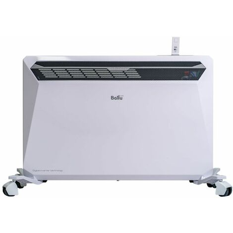 Radiador Calefactor eléctrico wifi cm 41,3x12,9x64 Ballu Rapid1800 - Blanco