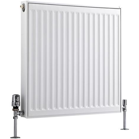 Radiador Convector Horizontal - Blanco - 600mm x 600mm x 50mm - 555 Vatios - Eco
