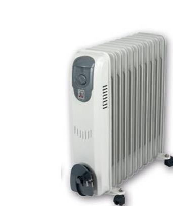 Radiador de aceite 11 elementos 2500W