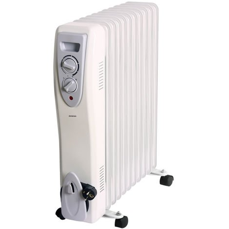 Radiador de aceite 11E INFINITON HOR-2500 - 2500W, 11 Elementos, 3 niveles de potencia