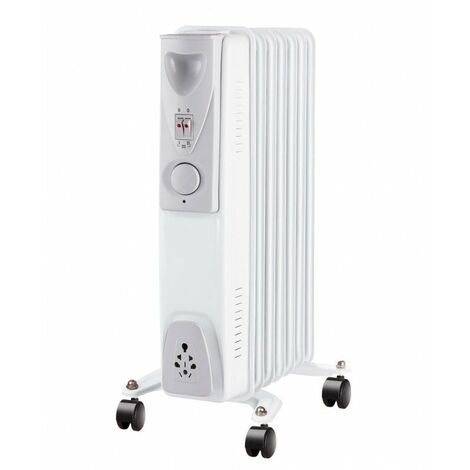 Radiador de aceite 1500W 7 elementos de calor