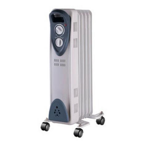 Radiador De Aceite 5 Elementos 3 Potencias 400W 600W 1000W