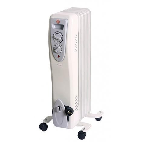 Radiador de aceite 5E INFINITON HOR-1000 - 1000W, 5 elementos, 3 niveles de potencia