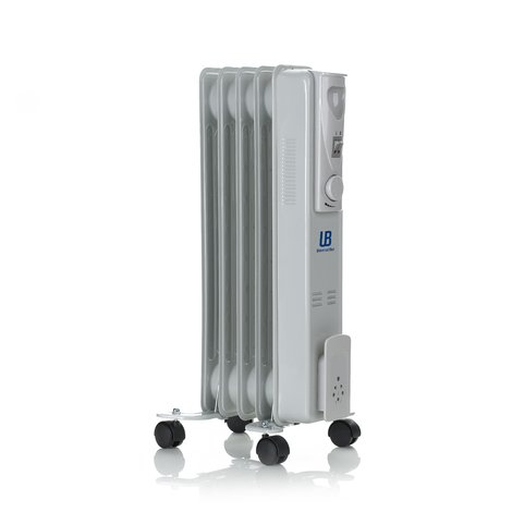 Radiador de aceite de 1000W con 5 elementos calefactores UNIVERSAL BLUE URA1000-16