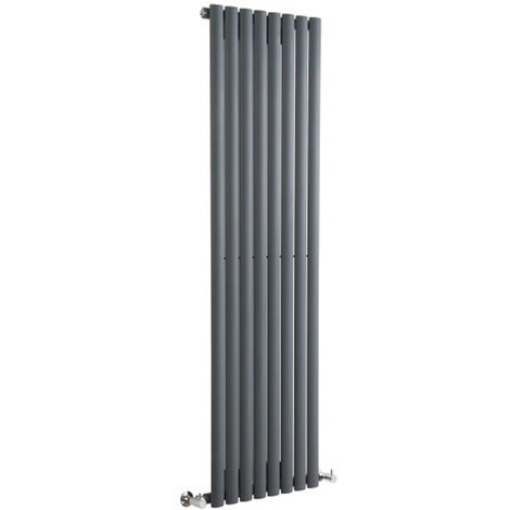Radiador de Diseño Revive Vertical - Antracita - 1190W - 1780 x 472mm