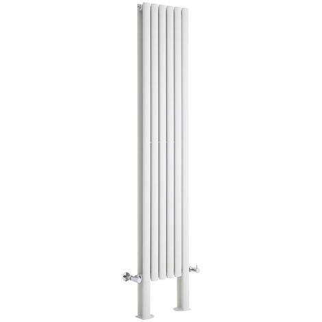 Radiador de Diseño Revive Vertical - Blanco - 1228W - 1800 x 354mm