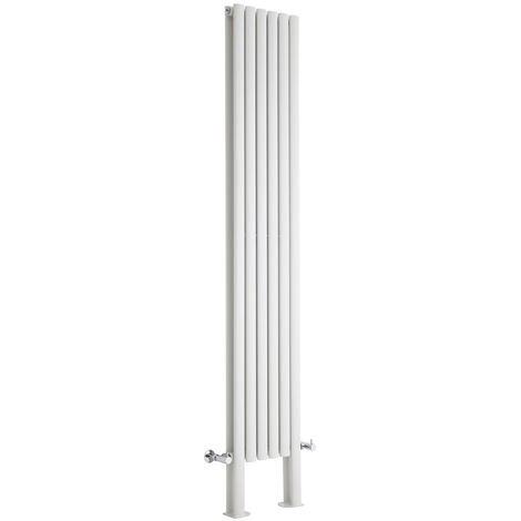 Radiador de Diseño Revive Vertical - Blanco - 1401W - 2000 x 354mm