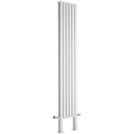 Radiador de Diseño Revive Vertical - Blanco - 1868W - 2000 x 472mm