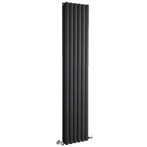 Radiador de Diseño Revive Vertical - Negro - 1401W - 1780 x 354mm