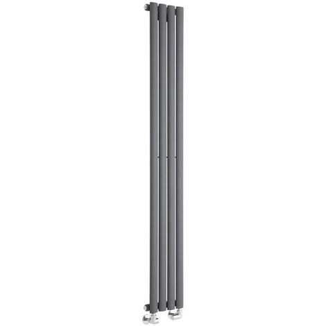 Radiador de Diseño Revive Vertical - Antracita - 561W - 1600 x 236mm
