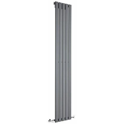 Radiador de Diseño Vertical - Antracita - 1780mm x 350mm x 47mm - 822 Vatios - Delta
