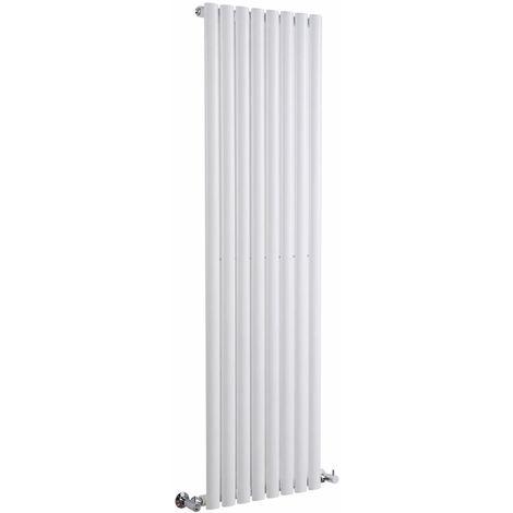 Radiador de Diseño Vertical - Blanco - 1600mm x 472mm x 56mm - 1121 Vatios - Revive