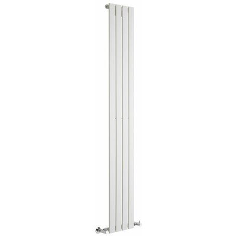 Radiador de Diseño Vertical - Blanco - 1780mm x 280mm x 47mm - 658 Vatios - Delta