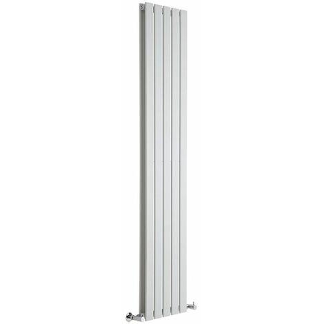 Radiador de Diseño Vertical Delta Blanco