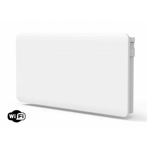 Radiador de inercia digital con placa cerámica interna y control WIFI2000W Purline