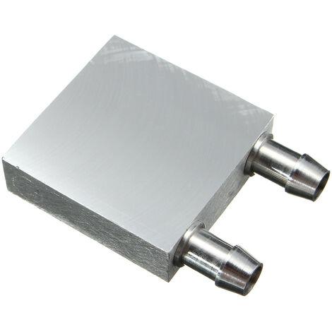 Radiador de refrigeración por agua de aluminio para CPU 40 * 40 * 12
