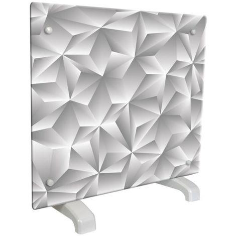 Radiador decorativo design Prisma cm 50x9x48 Chemin Arte efydis 114