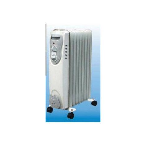 Radiador Elec Aceite 07 Elementos 1500w Vivahogar