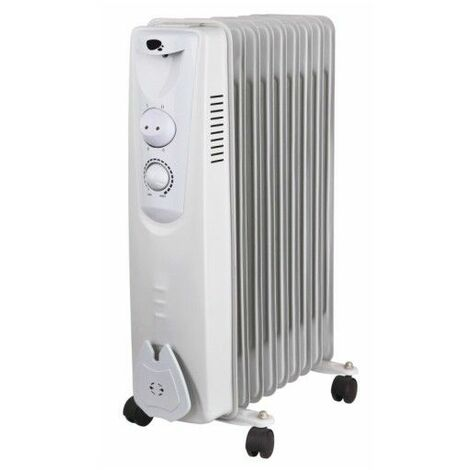 Radiador elec aceite 09 elementos 2000w vivahogar