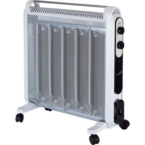Radiador micathermic jata 2000w blanco 5 placas