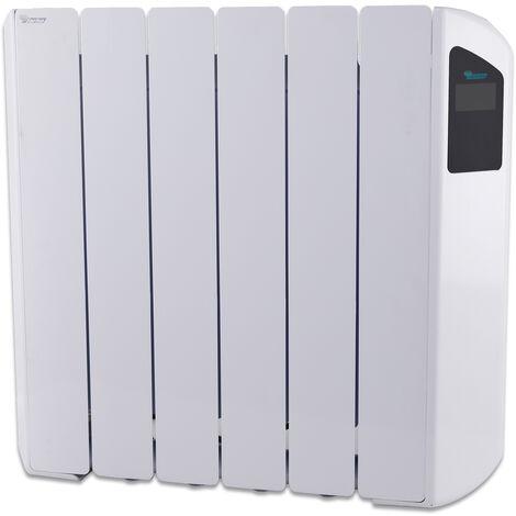 Radiador Eléctrico Bajo Consumo Victoria 1000W (6) · Termostato Negro