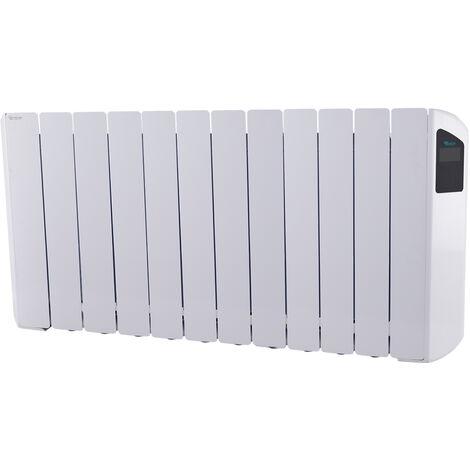 Radiador Eléctrico Bajo Consumo Victoria 2000W (12) · Termostato Negro