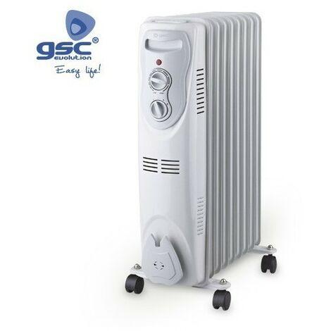 Radiador eléctrico de aceite 7 elementos 1500W GSC 5104905