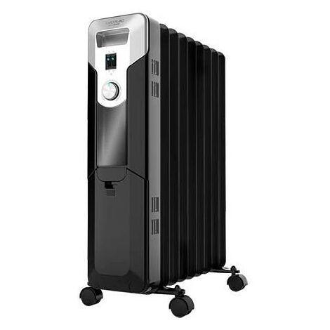 Radiador eléctrico de aceite ready warm 5670 space, bajo consumo, 9 modulos, potencia 2000w en 3 niveles, cecotec