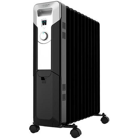 Radiador eléctrico de aceite ready warm 5720 space, 11 módulos, bajo consumo, potencia 2500w, 3 niveles de potencia cecotec