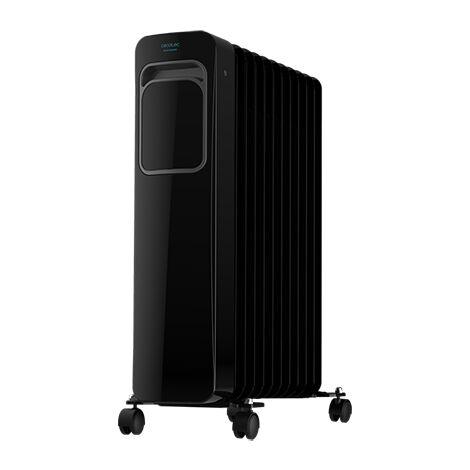 Radiador eléctrico de aceite readywarm 11000 touch connected black, 11 elementos, potencia 2500w en 3 niveles, control por wi-fi