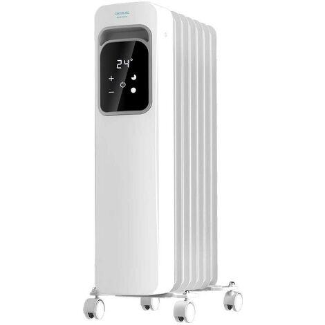 Radiador eléctrico de aceite readywarm 7000 touch cecotec
