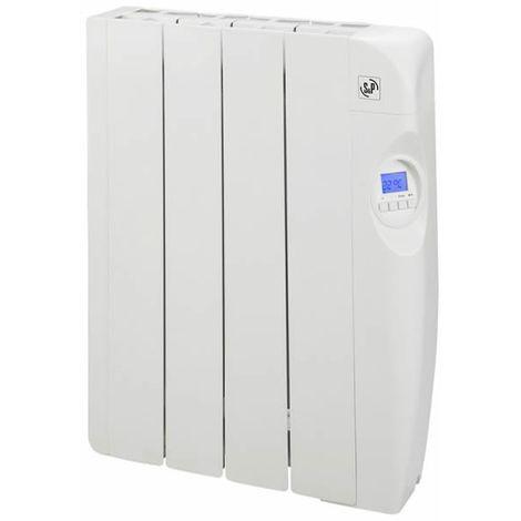 Radiador eléctrico de bajo consumo con fluido 4 elementos 600W S&P EMI-4 PROGRAM