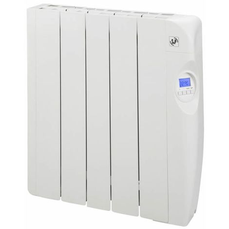 Radiador eléctrico de bajo consumo con fluido 5 elementos 800W S&P EMI-5 PROGRAM