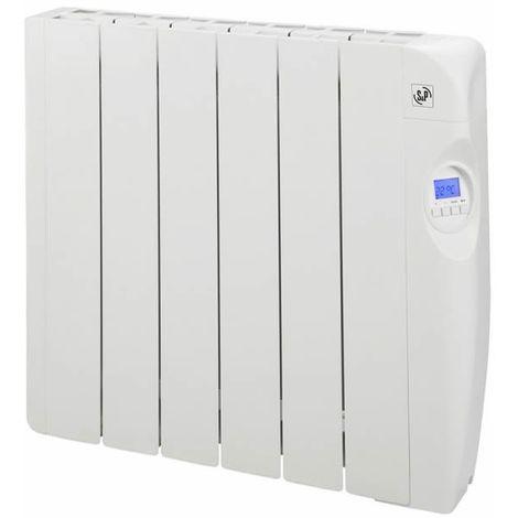 Radiador eléctrico de bajo consumo con fluido 6 elementos 1000W S&P EMI-6 PROGRAM
