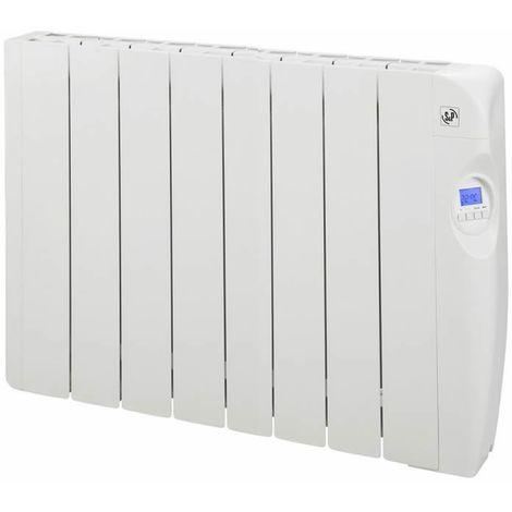 Radiador eléctrico de bajo consumo con fluido 8 elementos 1200W S&P EMI-8 PROGRAM