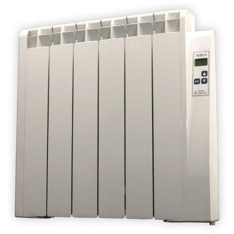 Radiador Electrico de Bajo Consumo Farho TESSLA • 750 Watios • TERMOSTATO Digital Programable