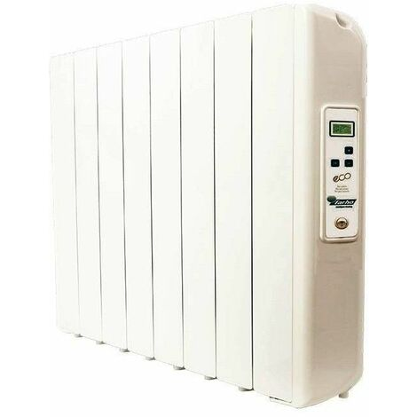 Radiador electrico Farho ECGU08 serie ECO GREEN ULTRA blanco 8 modulos 1330W