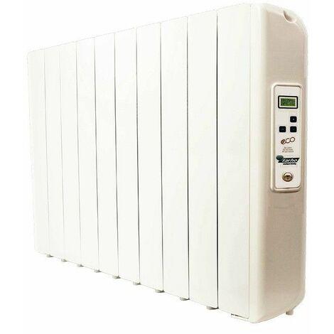 Radiador electrico Farho ECGU10 serie ECO GREEN ULTRA blanco 10 modulos 1.650W