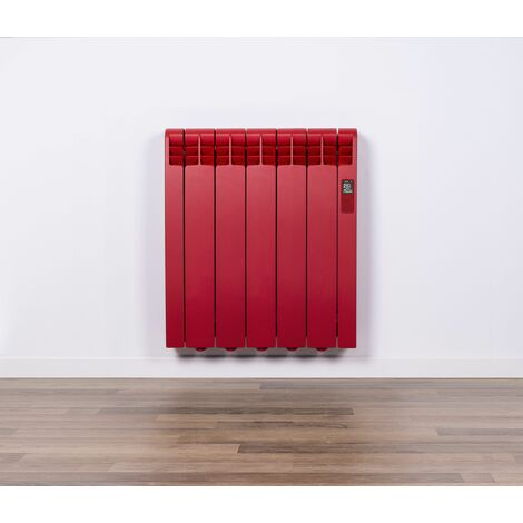 Radiador Eléctrico Rointe Serie D RAL 3000 FLAME RED Texturizado